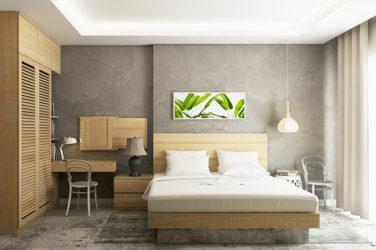 minimalist spare room