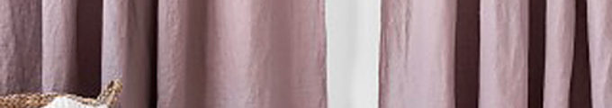 Linen curtains