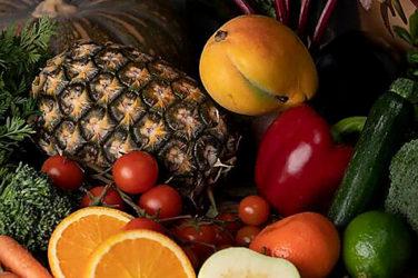 Organically Grown Food